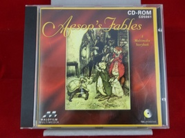 Aesop's Fables Multimedia Storybook Windows CD-ROM Software Disc - $8.00