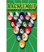 """Billiards """"Rack 'em Up"""" Magnet - $4.99"""