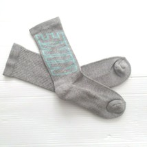 Nike Youth Performance Crew Socks - SX5816 - Gray - Size M - NEW - $5.99