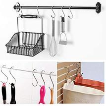 24 Pack ESFUN Round S Shaped Hooks Hangers for Kitchen, Bathroom, Bedroom and Of image 5