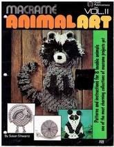 MACRAME ANIMAL ART Vol II - 1978 SC - Vintage Craft Publications - $9.99