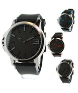 Mens Simple Modern Minimalist Design Analog Qartz Round Fashion Wrist Watch - $14.95