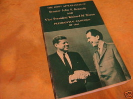 Il Articolazioni Apparizione di John Kennedy Nixon Campagna 60 - $16.20