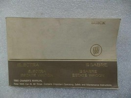 Buick Lesabre Electra Estate Wagon 1980 Owners Manual 14713 - $16.82