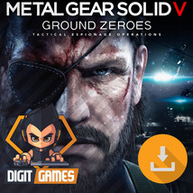 Metal Gear Solid V 5 Ground Zeroes - PC / Steam CD Key - Game Download - Digital - $9.99