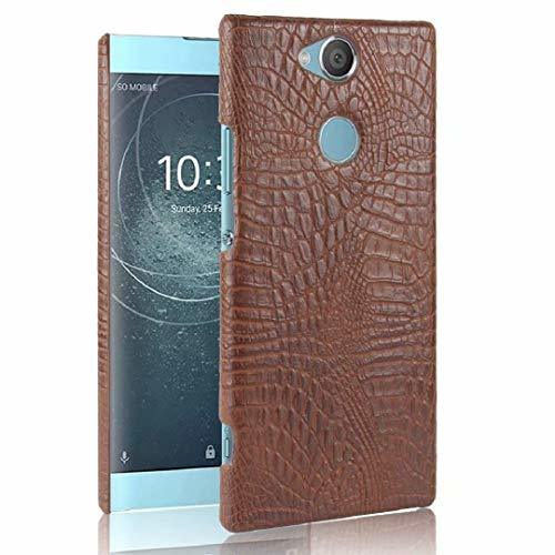 Primary image for Sony XA2 Crocodile Case, 3D Cool Crocodilian Cayman Alligator Slim Cover, TAITOU