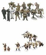 2 Tamiya WW2 Military Models - Russians with Tank Crew & German Panzer G... - $27.71