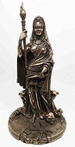 Greek White Goddess Hecate Sculpture Athenian Patroness of Crossroads, Witchcraf - $49.99