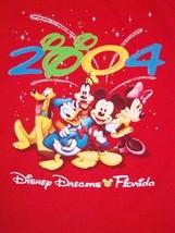 Walt Disney World Disneyland Dreams Florida Mickey Mouse Minnie Donald T... - $17.66