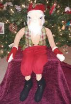 Joe Spencer's McDonald Santa Claus Christmas Doll Gathered Traditions Ne... - $49.49