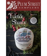 Yuletide Shanty cross stitch chart Plum Street Samplers  - $10.80