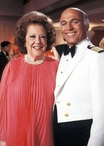 The Love Boat Gavin Macleod with guest star Ethel Merman 5x7 inch photo - $5.75