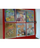 6x Disney LOT Stanley Spring Fever, Beauty&The Best, Toy Story, Air Bud ... - $50.00