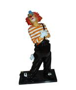 "Clown - small Bronze Statue -  Size: 12""L x 6""W x 23""H. - $800.00"