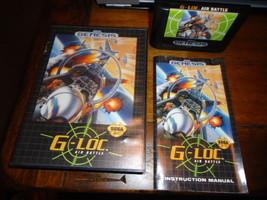 G-LOC: Air Battle  (Sega Genesis, 1992) - $36.62