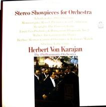 VINYL RECORD LP STEREO SHOWPIECES FOR ORCHESTRA HERBERT VON KARAJAN 3 LP... - $35.00