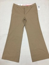 GAP Stretch Women's 10ANK Brown Dress Pants  - $15.82