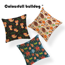 Hedgehog Pumpkin Tropical Plants Leaves Cushion Ocean Seahorse Starfish ... - $21.23 CAD