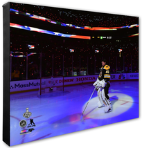 Tuukka Rask Game 5 of 2019 Stanley Cup® Finals-16x20 Photo on Stretched Canvas - $89.99