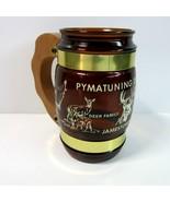 Vintage Souvenir Pymatuning Deer Park Jamestown PA Siesta Ware Glass Mug... - $11.99