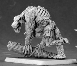 Scurvy Dog Undead Werewolf Reaper Miniatures Warlord Monster Zombie Melee Lupine - $10.88