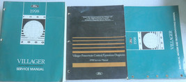 1998 Mercury Villager Service Repair Manual OEM Factory Dealership Works... - $3.02