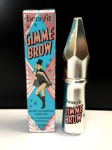 Benefit Gimme Brow Volumizing Eyebrow Gel in #3 - Travel Size - NIB - $8.50