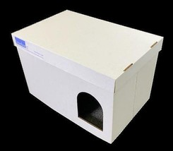 """Litterboxer Cardboard Covered Cat Litter Box/Play/Hideout 29""""X18X18 - $24.99"""