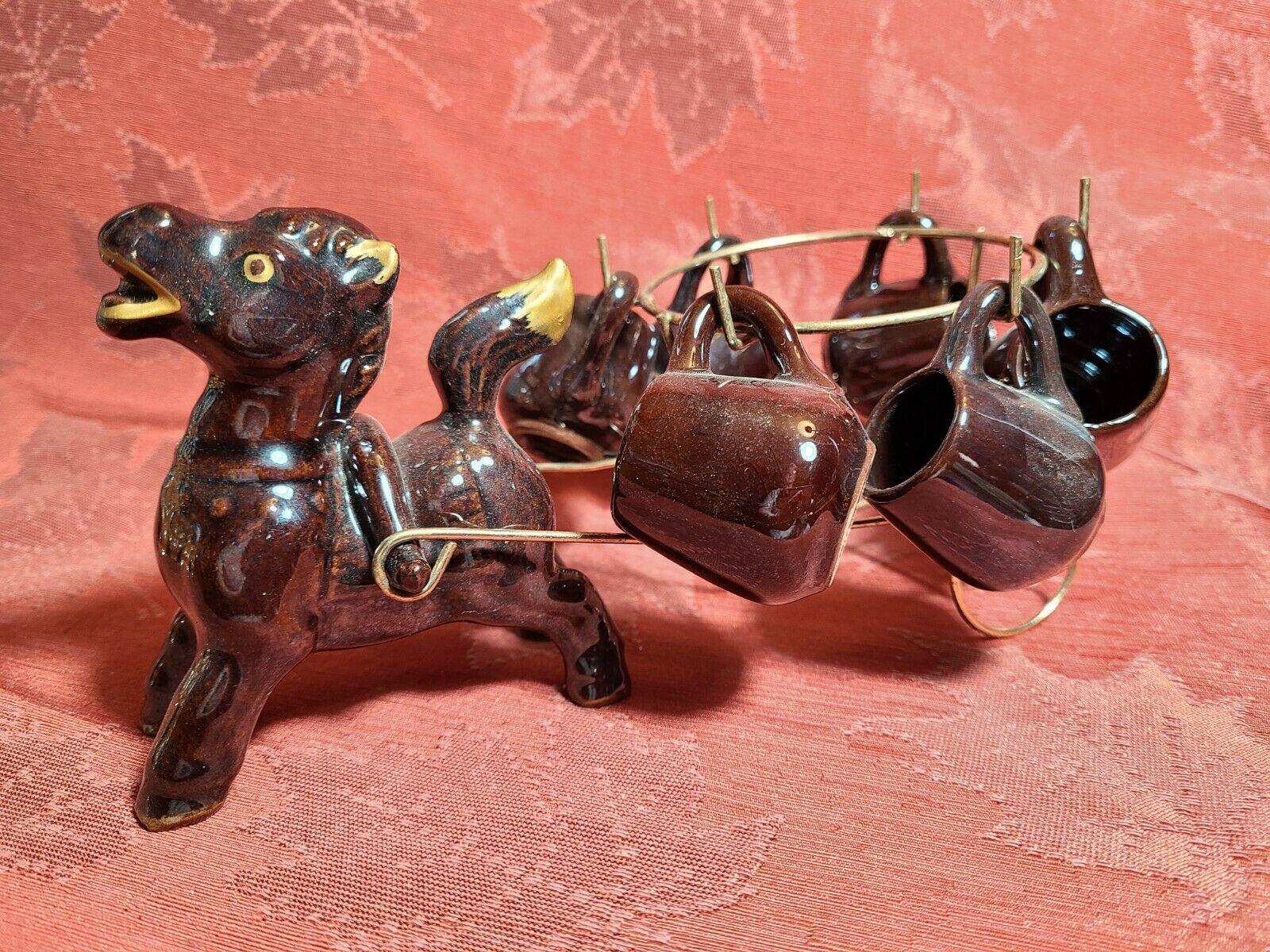Artmark Originals Japan Horse and Cart Bar Set With Shot Mugs