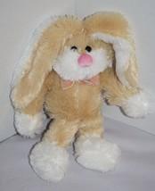 """Dan Dee Beige Plush EASTER BUNNY RABBIT 10"""" Long Ears Stuffed Soft Toy B... - $11.53"""