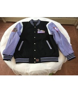JH DESIGN/DISNEYDAISY DUCK/WOOL AND LEATHER/REVERSIBLE JACKET - $300.00