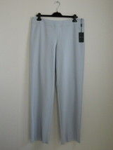 New GIORGIO ARMANI Pale Grey Wool Basic China Trouser Pants 40/6 - $150.34