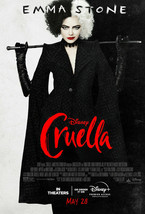 Cruella Final One Sheet 27x40 Movie Poster Authentic NEW- Shipping w/Tra... - $25.72