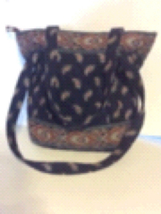 Vera Bradley large shoulder bag.  - $40.00