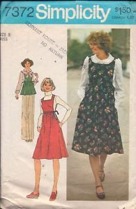 Primary image for Simplicity 7372 Misses' Jumper or Top and Blouse