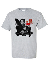 Mcqueen retro mustang car movie film 1970s 1960s vintage cars t shirt for sale  thumb200