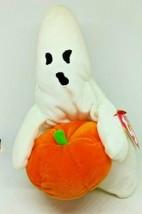 Ty Beanie Baby Ghoul Ghost W/PUMPKIN 2004 - $9.49