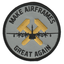 USMC Make Airframes Great Again Patch With velco - $9.89