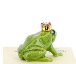 Birthstone Frog Prince June Simulated Alexandrite Miniatures by Hagen-Renaker image 4