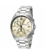 Hamilton Men's Khaki Aviation H76512155 41mm Beige Dial SS Chronograph Watch - $397.38