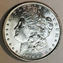 1886 $1 Morgan Silver Dollar Coin Lot # E 106