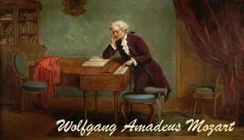 Wolfgang Amadeus Mozart Magnet #12 - $6.99