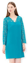 MONSOON Reyla Tunic Teal Dress Size UK 16 BNWT - $76.96