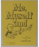 ME MYSELF and I Childrens All Occasion Sheet Music Book Autoharp Guitar ... - $4.37