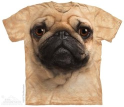 The Mountain Mopsgesicht Puggle Süßer Hund Man Bester Freund Pet T T-Shi... - $19.55+