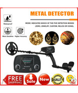 Waterproof Metal Detector Deep Sensitive Ground Search Gold Treasure Hun... - $93.00