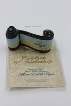 """Walt Disney Classic Collection Three Little Pigs """"Opening Title"""" scroll.... - $15.00"""