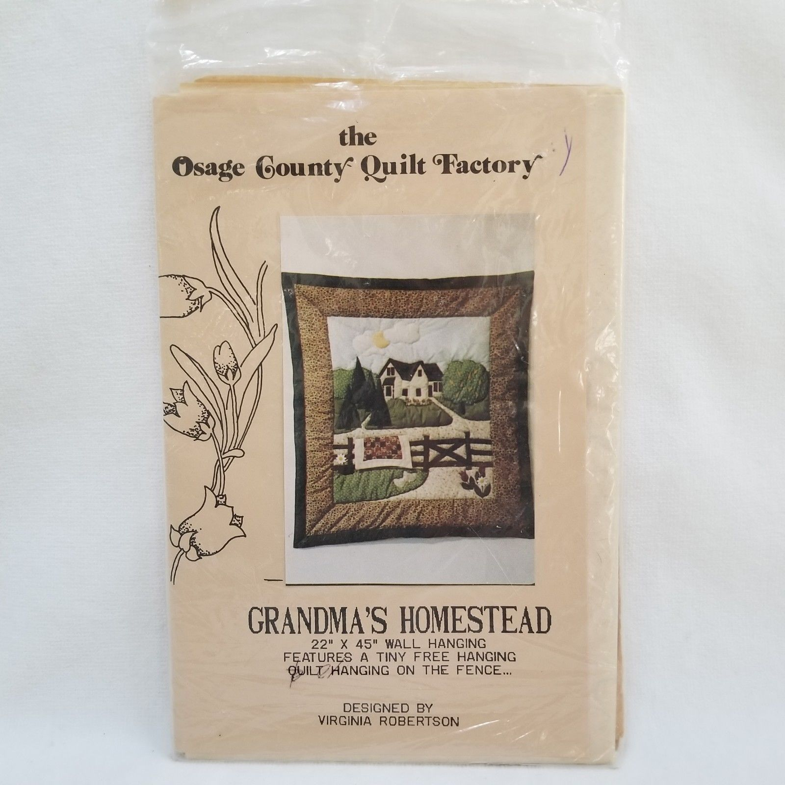 Primary image for Grandma's Homestead Quilt Pattern Osage Country Quilt Factory Virginia Robertson