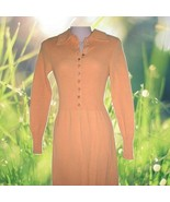 vintage women sweater dresses long sleeve maxi dress size xxs 2xs 0 2 - $149.99