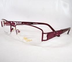 Apple Bottoms 756 Burgundy 3 Eyeglasses Metal  54-18-140 Frames New - $39.59